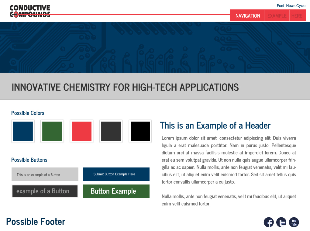 New Site Launch: ConductiveCompounds.com