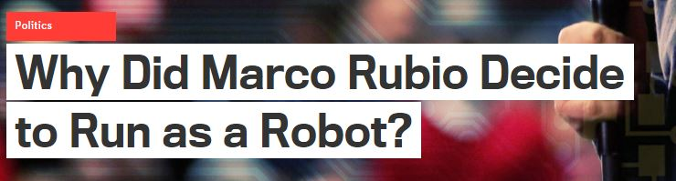 What happens when you're too slow to adjust your message.